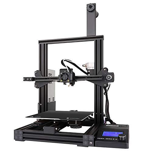 ANYCUBIC 3D-Drucker, MEGA ZERO 2.0 FDM 3D-Drucker mit Magnetdruckbett und zusätzlicher Nivellierung, Unterstützung von PLA, TPU, HOLZ, PETG, Druckgröße 220 x 220 x 250 mm