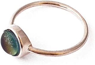 Mood Ring in Gold, Rose Gold, or Silver | Minimalist, Delicate Jewelry