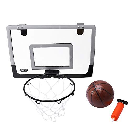 TOOGOO Basketballkorb mit Ball 18 Zoll x12 Zoll bruchsicher Rueckwand