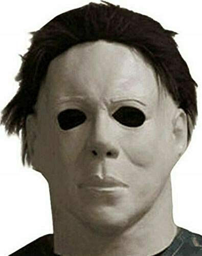 Horror Michael Myers Mask 1978 Halloween Latex Full Head Adult Size Fancy Dress USA Black