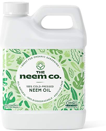 Neem Oil, 100% Organic & Pure (32 oz) - Cold...
