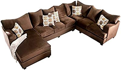 Amazon.com: Modern Furniture- VIG- Chloe - Ultra Chic Fabric ...