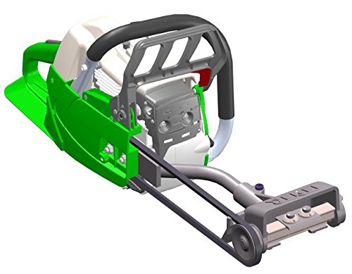 Dispositivo pelatrice eder con motosega esga56