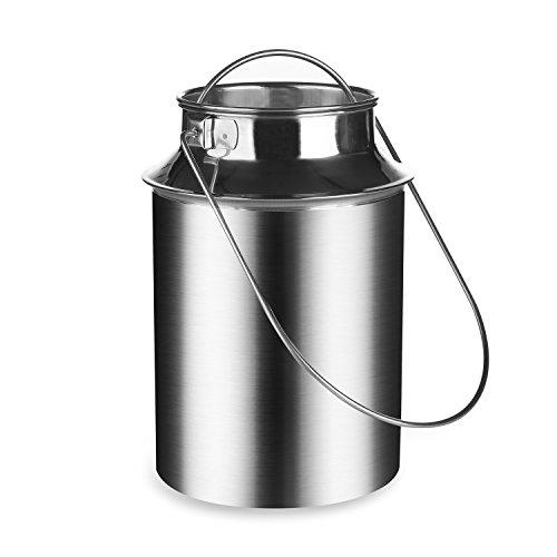 kaese-selber.de Milchkanne 5 Liter (Edelstahl)