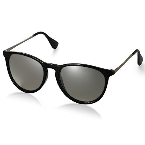 Aroncent Gafas de Sol Polarizada de Moda contra UV400 Sunglasses Lente Clásica...