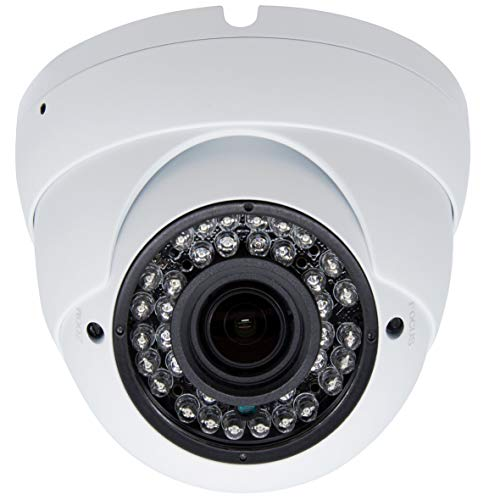 multi purpose dome cameras 5MP 4MP Vonnision4in1 Super Hybrid Dome Security Camera TVI / CVI / AHD / 960HC CTV Camera 2.8-12mm Varifocal Lens Waterproof Day / Night Vision Outdoor / Indoor 98ft IR Camera White