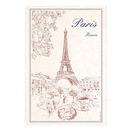 Torchons & bouchons – Français Petit Déjeuner romantique Paris Tour Eiffel Serviette de cuisine en coton