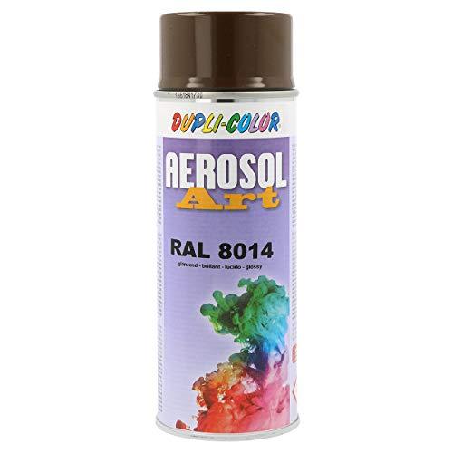 Spraydose Dupli Color AEROSOL ART RAL 8014 - Sepiabraun glänzend 400ml