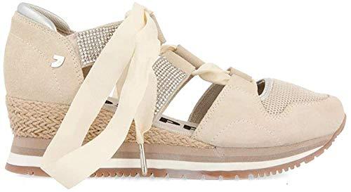 GIOSEPPO MUSTIQUE, Zapatillas sin Cordones Mujer, Blanco (Off-White Off-White), 40 EU