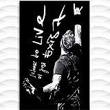 FGVB Cuadro de Robert Trujillo decoración del hogar Lienzo nórdico Pintura Carteles de Arte de Pared e impresión-50 * 70 cm sin Marco
