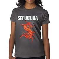 Sepultura T-Shirt Soft Shirt Short Sleeve For Mens Deep Heather XXL