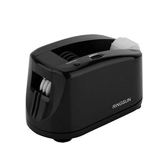 Zerone automatischen Tischabroller, Elektrische Auto Tape Schneiden Maschine Spender mit Festen Saugnapf und Anzug für Viele Arten Tape