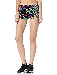 Gia Mia Dance Women's Remix Print Shorts