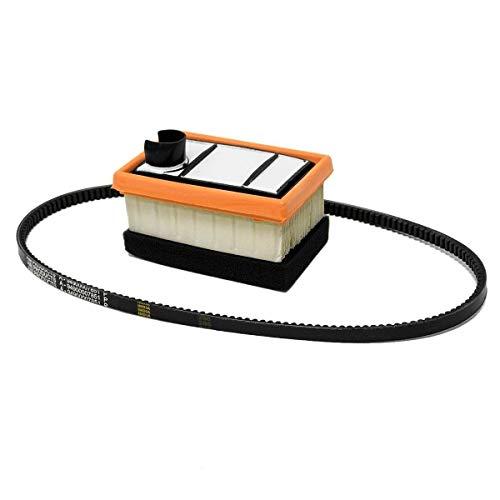Air & Belt Filter Kit for Concrete Saw SТІНL Ts400 9490 000 7851, 4223 007 1010