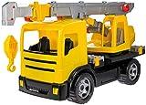 SIMM Spielwaren 2176 Konstruktionsfahrzeuge, Gelb, Schwarz