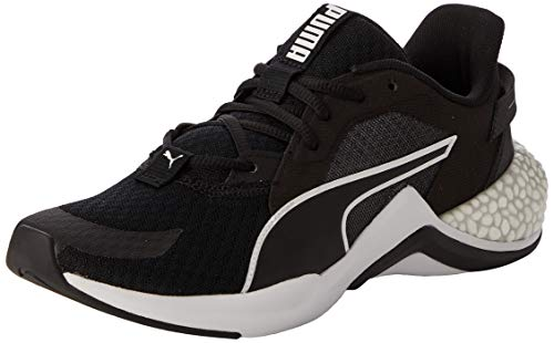 PUMA Unisex Baby Hybrid Nx Ozone Jr Sneaker, Schwarz Black White 01, 39 EU