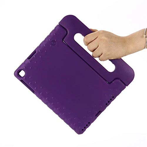 QiuKui Tab Funda para Samsung Galaxy Tab A 10.1, Kids Child Child Safe Eva Case Nueva Tableta Funda Stand Tapa a Prueba de Golpes para Samsung Galaxy Tab A 10.1 SM-T510 SM-T515 2019 (Color : Purple)