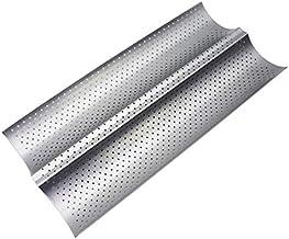 Teglia Forata Per Baguette Cm53x32,5 Alluminio Siliconato