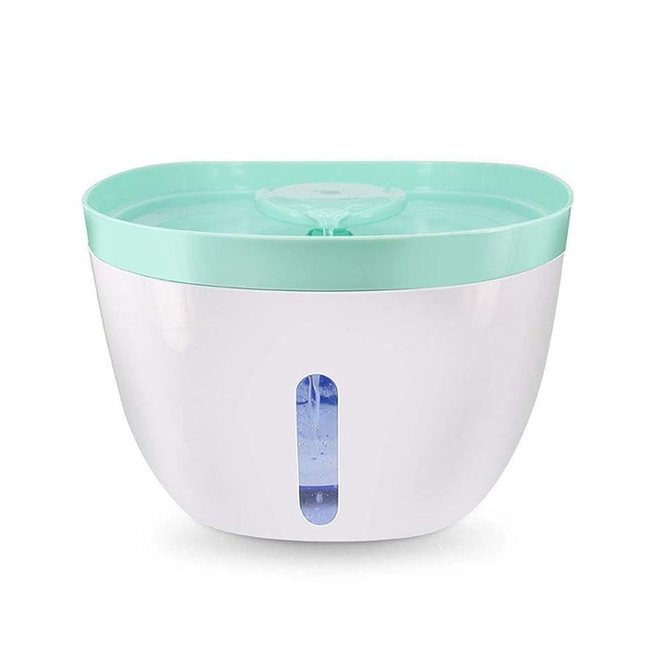 喉頭有効化限りなくペット用品 調節可能な水流、水噴水の飲酒人の酸素貯蔵浄水器、ペット健康のための猫の水鉢が付いている衛生的な飲む噴水
