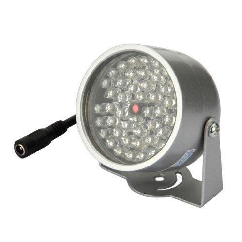 BW 48 LED Iluminador Luz CCTV IR Lámpara infrarroja para la seguridad Night Vision Camera