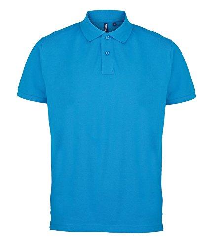 Undercover lingerie AQ010 Asquith & Fox Men's Polo Sapphire Blue XL