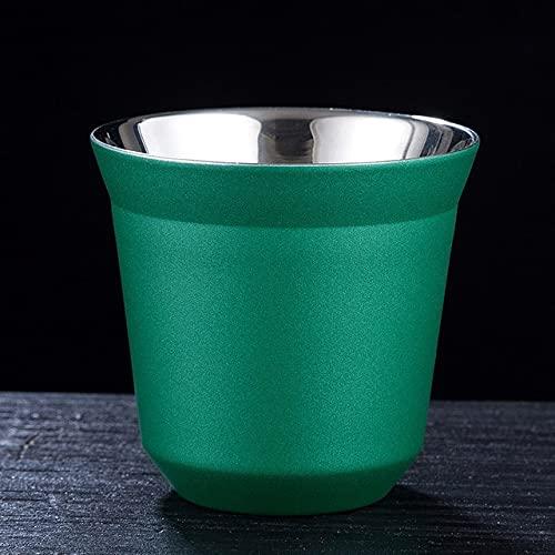 Taza De Café Expreso De Acero Inoxidable De Doble Pared De 80 Ml Con Aislamiento Nespresso Pixie Taza De Café Con Forma De Cápsula Linda Taza Térmica Tazas De Café