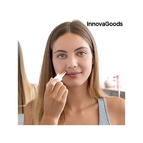InnovaGoods IG813253 Épilateur visage Gold Beauty