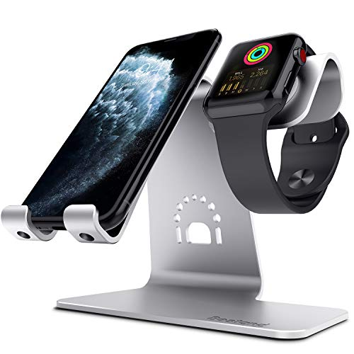 Bestand - Soporte de Escritorio para iPhone X, 8 Plus, 8/7 Plus, iPad, Color Plata