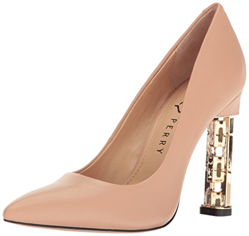Katy Perry Women's The Suzanne Pump, Nude, 9 Medium US