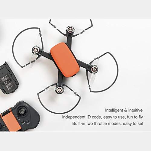 Amyove Drohne 913A GPS RC schwanzlos mit faltbarem Propeller Kamera GPS Quadcopter 5G WiFi FPV 1080P HD 2 Batterien gelb