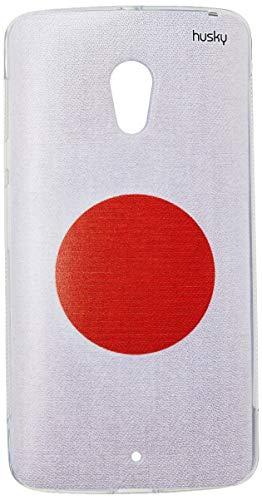 Capa Personalizada Bandeira Japão, Husky, Moto X Play, Capa Protetora para Celular, Multicor