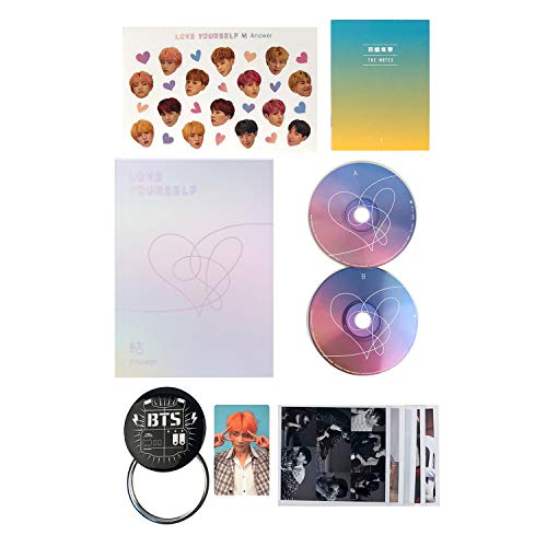 LOVE YOURSELF 結 ANSWER [ F ver. ] BTS Album 2CD + Photobook + Mini Book + Sticker Pack + FREE GIFT / K-POP Sealed