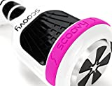 Scoovy Protective Teal Replacement Bumper for Hoverboard / 2 Wheel Self Balancing Scooter - One Pair