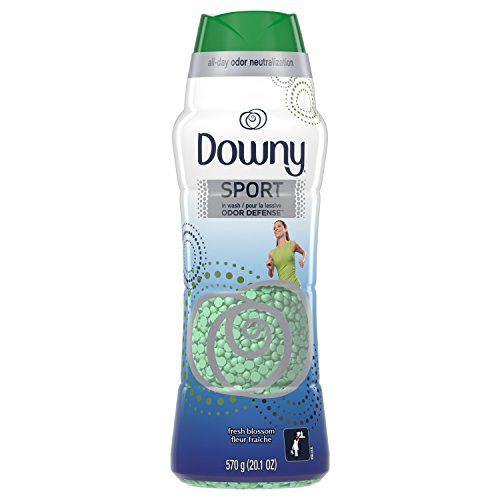 Downy Sport Odor Defense Beads in Wash Scent Beads, Fresh Blossom, 20.1 Ounce