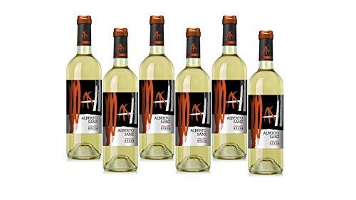 Alberto Sanz Vino Blanco 6 Botellas - 4500 ml