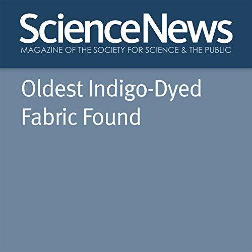 『Oldest Indigo-Dyed Fabric Found』のカバーアート