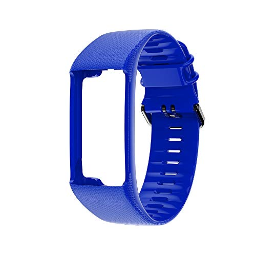 Correas de reloj compatibles con Polar A360 A370, correa de repuesto de pulsera inteligente adecuada para Polar A360 A370, ajustable con hebilla, para hombres y mujeres
