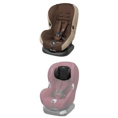 Maxi-Cosi Priori SPS Plus Kindersitz mit Kopfpolster - optimalen Seitenaufprallschutz und 4 Sitz- und Ruhepositionen, Gruppe 1 (9-18 kg), nutzbar ab 9 Monate bis 4 Jahre, oak brown