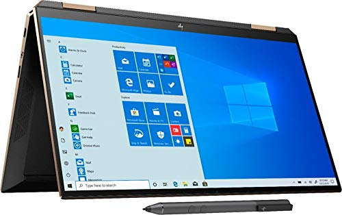 Newest HP Spectre x360 13t (10th Gen Intel i7-1065G7, 16GB, Precision, WiFi 6 AX, with Stylus Pen, 2-in-1, B&O, 3 Years McAfee Security, Windows 10 Professional, HP Warranty) Nightfall Black