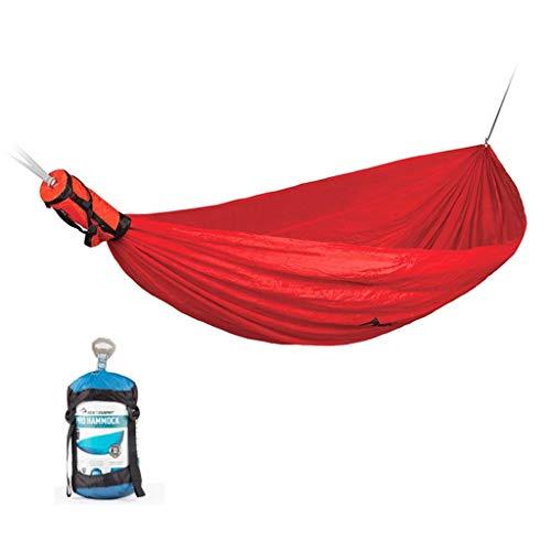 Hamacs, Meubles de Camping Stockage intégré Simple Nylon Extérieur Solide et Durable Multi-scène Applicable Charge 180 kg (Couleur: Vert, Taille: 300 * 150cm) Confortable