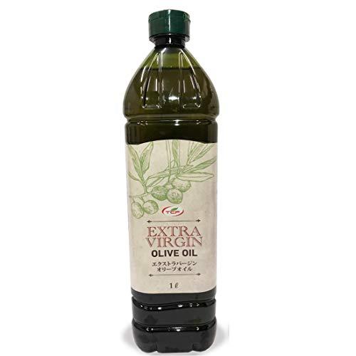 スペイン産 エクストラバージンオリーブオイル 1L エキストラバージン コールドプレス 低温圧搾 一番搾り ペットボトル 大容量 酸度0.4%以下 1000ml
