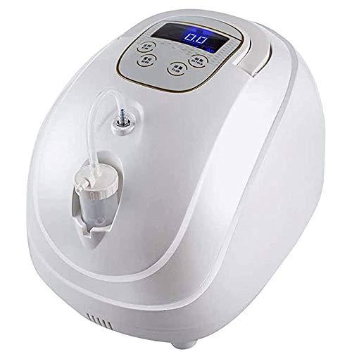 LABYSJ - Dispositivo de respiración de oxígeno O2 portátil, 1 L, silencioso, para uso doméstico y de viaje