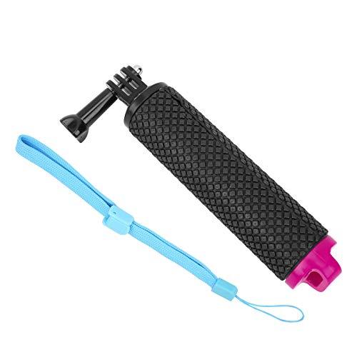 Accesorios de buceo para natación a prueba de agua con cuerda de mano ajustable para OSMO ACTION para snorkeling(rose Red)