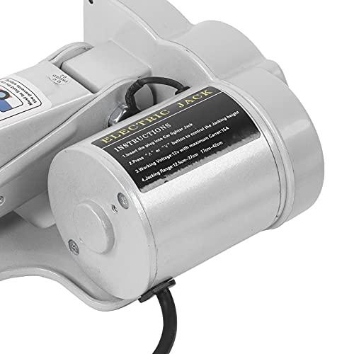 AYNEFY Kit cric per Auto elettrica, Struttura in Acciaio per impieghi gravosi Kit cric per Auto...