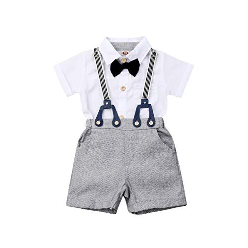 Mahuayixi - Conjunto de ropa para bebé y niño, 2 piezas, camisa...