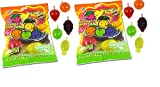 """JELLY JU-C FRUIT SNACKS INCLUDE 2 BAGS - 16 TOTAL PIECES - 22.6 TOTAL OZ - 22.6 Ounces of Delicious JU-C Jelly Fruit TIKTOK Challenge with Fruity's Ju-C Jelly Fruits and play the famous """"Hit or Miss"""" game. Jelly fruit candy bag with assorted flavors...."""