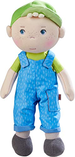 HABA Boy Doll is great for an Easter basket filler for toddler boy