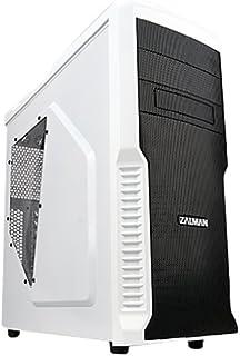 Zalman Z3 Plus - Caja de Ordenador de sobremesa, Blanco