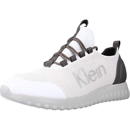 Calvin Klein Calzado Deportivo YM0YM00085 para Hombre Blanco 43 EU