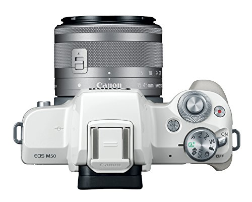 Canon EOS M50 Mirrorless Vlogging Camera Kit with EF-M 15-45mm lens, 4K Video,...